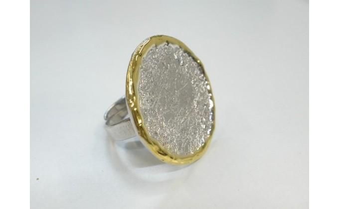 D 7 Handmade silver ring