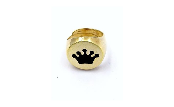 D 225 Silver  ring