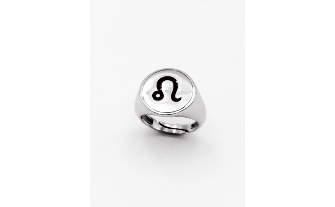 D120  Silver ring zwdio