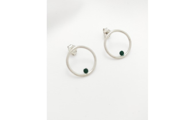 SK 214 Sterling silver earrings