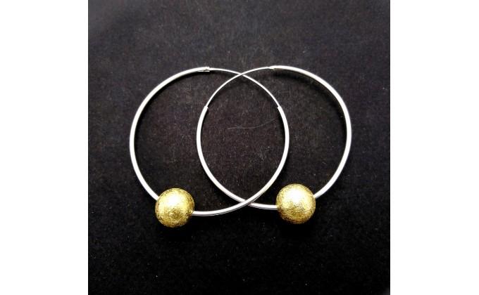 EA 1001 Silver earrings