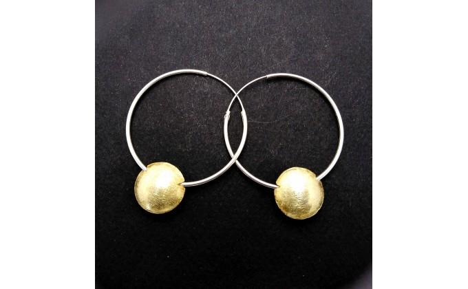 EA 1002 silver earrings