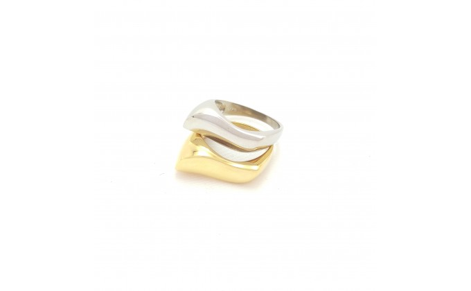 D 222s  Silver ring