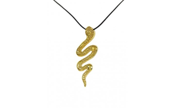 M 256 sterling silver necklace snake