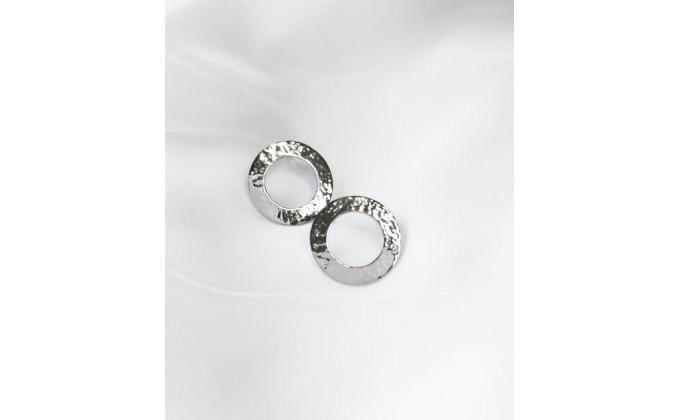 SK 261 Silver earrings