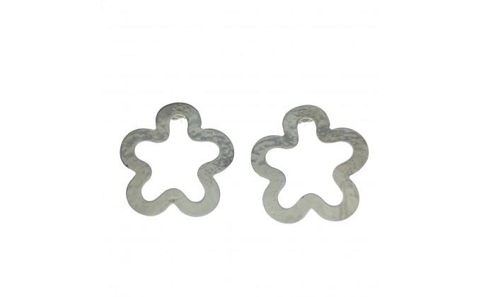 SK  262 Silver earrings