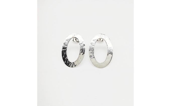 SK  264 Silver earrings