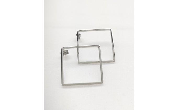 SK  267 Silver earrings
