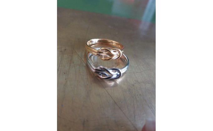 D 162 Silver ring