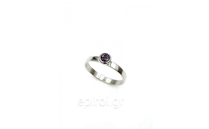 D 291 Silver ring
