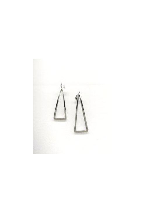 SK  295 Silver earrings