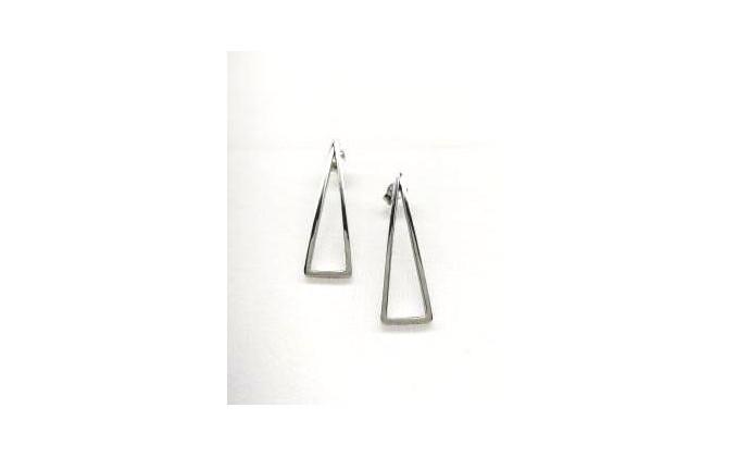 SK  295 Silver earrings