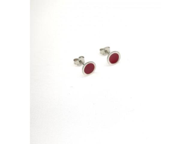 SK  208 Silver earrings