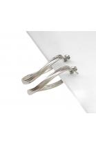 SK 324 Handmade silver earrings