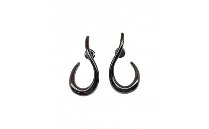 SK328b Handmade silver earrings