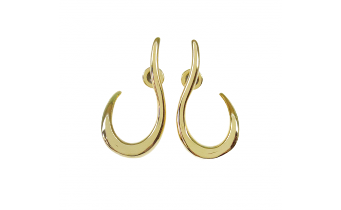 SK 328g  Handmade silver earrings