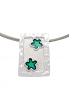 M 4sm Handmade silver pendants with enamel