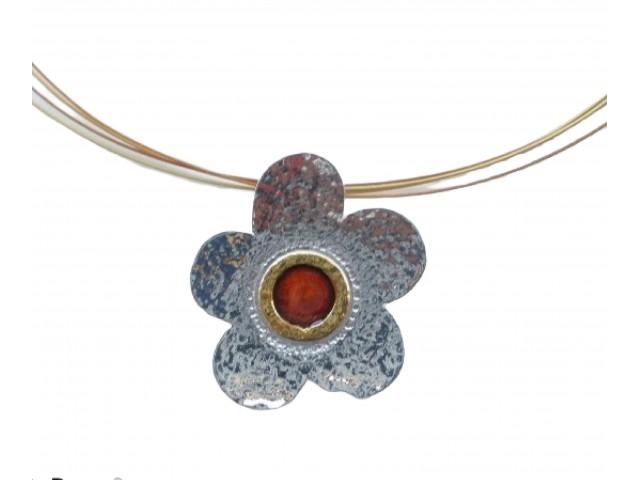M 97sm Handmade silver pendants with enamel