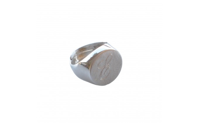 D 237 sterling silver ring