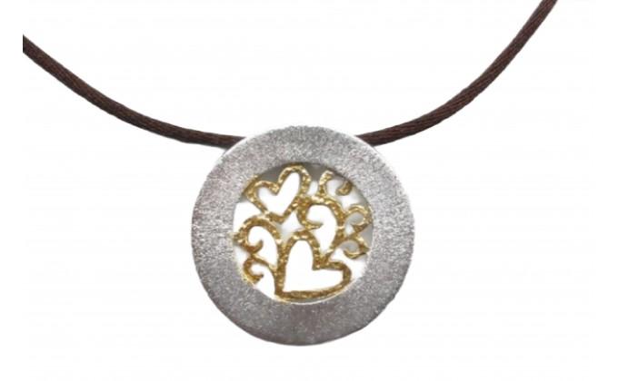 M 402 Silver jewlery pendant